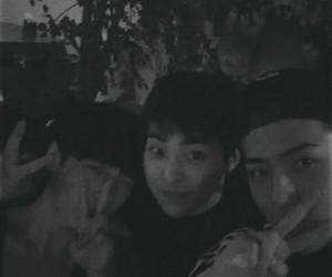 sehun, xiumin, and exo image