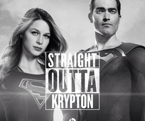 clark kent, Supergirl, and superman image