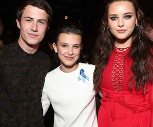 13+reasons+why, stranger+things, and millie+bobby+brown+ image