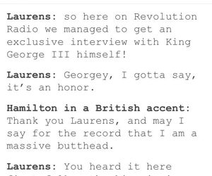 funny, hamilton, and musical image