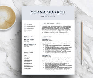 curriculum vitae, cv template, and creative resume image