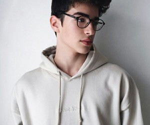 boy, manu rios, and glasses image