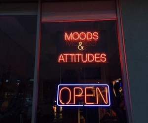 neon, open, and aesthetic image