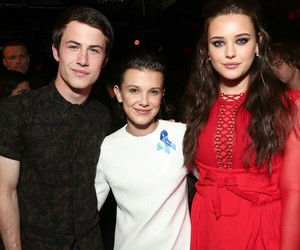 cast, eleven, and millie bobby brown image
