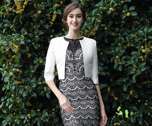 two piece, lace, and mother dress image