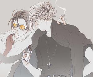anime, draw, and boys image