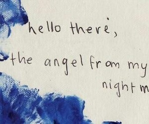 angel, nightmare, and blink 182 image