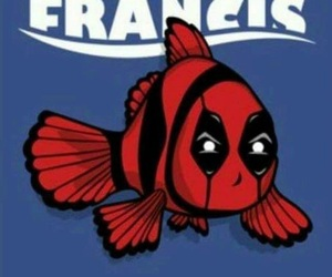 deadpool, finding nemo, and funny image
