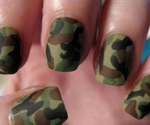nails, army, and military image