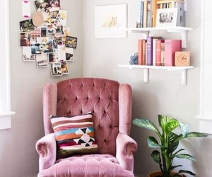 home, pink, and decor image
