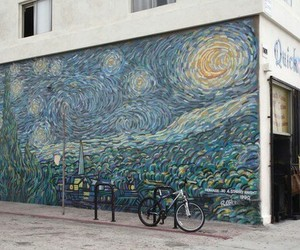 arte, wall, and paint image