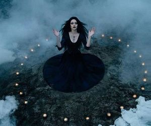 witch, magic, and black image
