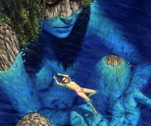 art and mother nature image