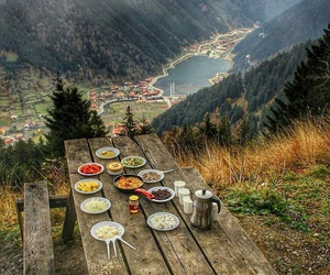 nature, food, and mountains image