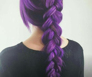 girl, hair, and color image