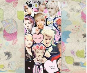 case, kpop band, and design image