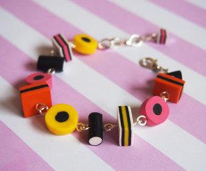 bracelet, candy, and diy image