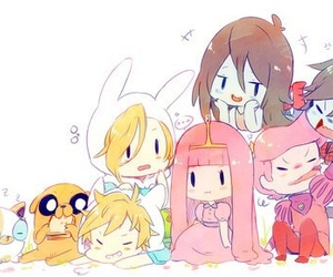 adventure time, anime, and cake image