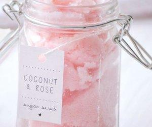 pink, pamper, and scrub image