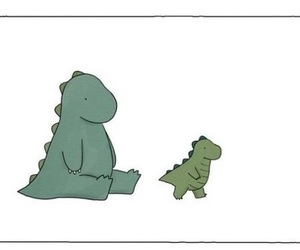 dinosaur, snake, and Halloween image