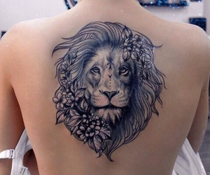 lion, tattoo, and tattoo inspired image