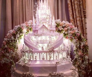 wedding, wedding cake, and wedding day image