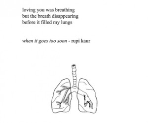 grief, poetry, and rupi kaur image