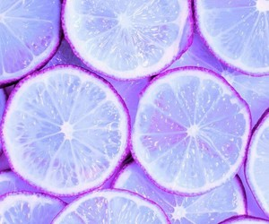 purple, wallpaper, and lemon image