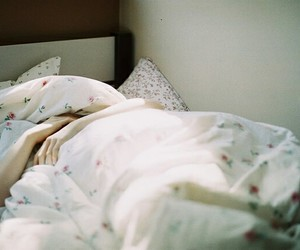 bed, indie, and morning image