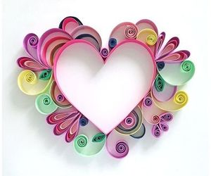 crafts, diy, and heart image
