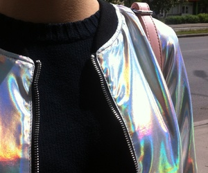 glitter, holographic, and mood image