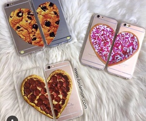 iphone, pizza, and case image