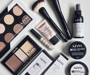 makeup, NYX, and cosmetics image