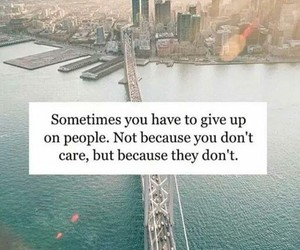 care, give up, and sad image