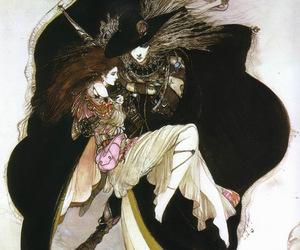 Yoshitaka Amano and illustration image