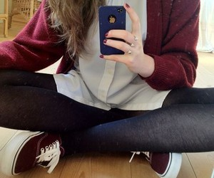 vans, fashion, and iphone image