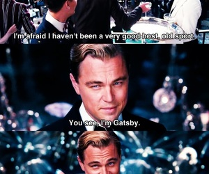 film, the great gatsby, and jay gatsby image