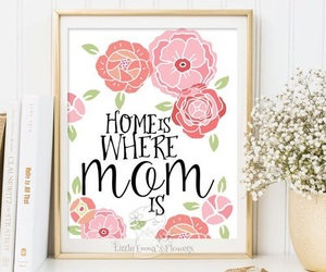 home, love forever, and mom image