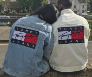 couple and tommy hilfiger image