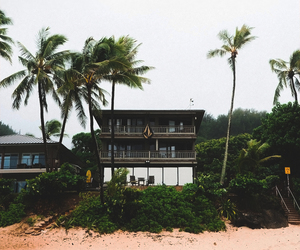 architecture, house, and tropical image