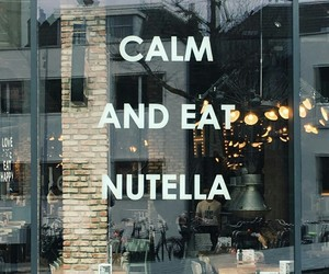 nutella and quotes image