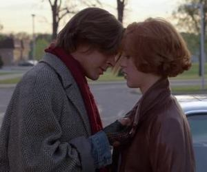The Breakfast Club, couple, and 80s image