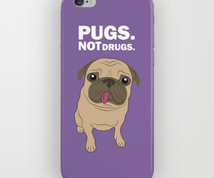 design, funny, and pug image