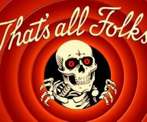 Halloween, red, and skeleton image