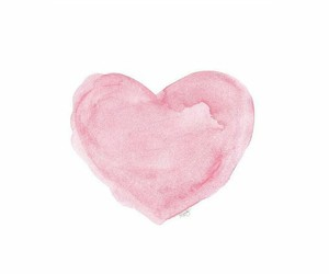 heart, pink, and pink heart image