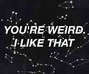 like, quotes, and weird image