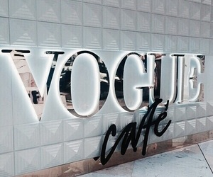 vogue, cafe, and luxury image