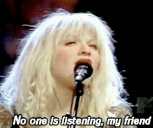 90's, Courtney Love, and live through this image