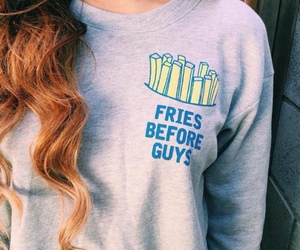 fashion, fries, and hair image