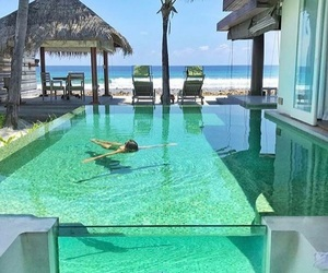 beach, pool, and relax image
